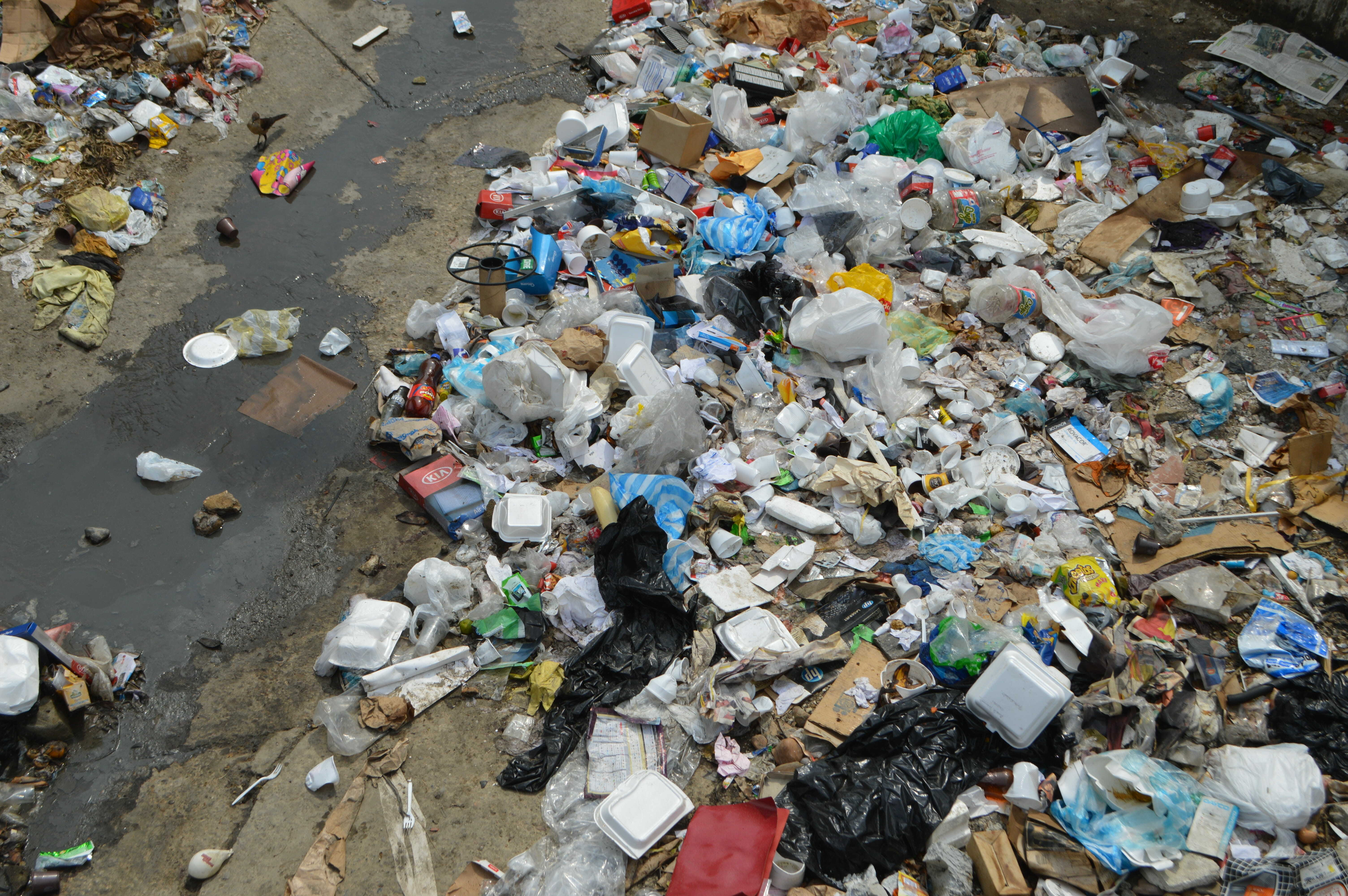 Food and goods-packaging recycle rate 100% - what it takes to avoid plastic all over nature